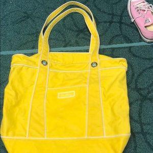 Vera Bradley canvas beach bag tote